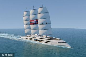 设计师打造维京长船版超级游艇