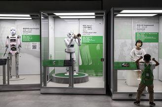 香港举办机械人五百年展览