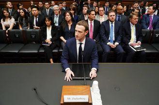 扎克伯格出席国会听证会 应答Facebook数据泄露事件