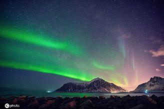 落入凡间的天堂挪威罗弗敦群岛 极光海滩雪景美到不可思议!