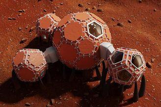 NASA火星太?#35449;眨?#21487;3D打印,能睡眠能健身