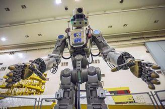 俄罗斯人形机器人将上太空