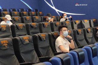 北京电影院正式复工 首批影迷收获纪念版票根
