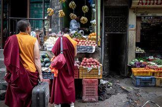 行走在尼泊尔