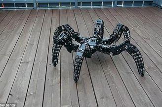 形似捕鸟蛛的六足机器人