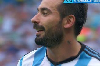 视频-阿根廷精巧任意球 天使挑传神锋小角度扫射
