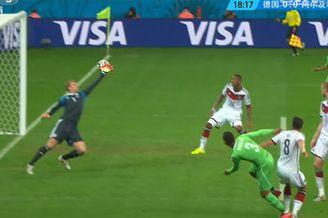 视频-阿尔及利亚流畅反击 铁卫插上劲射滑门而过