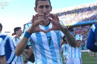 视频-沙奇里任意球被挡出 阿根廷赛后疯狂庆祝