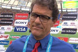 视频-卡佩罗:这就是足球 输掉比赛创造很多机会