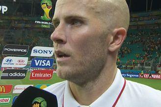 视频-布拉德利:最后那球没进很可惜 霍华德真领袖