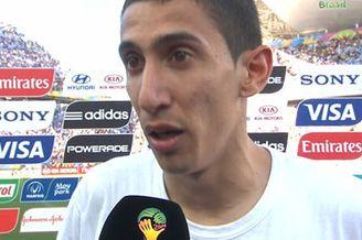 视频-迪马利亚:进球献给老婆孩子 愿天佑阿根廷
