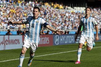 视频集锦-梅球王补时世界波绝杀 阿根廷1-0伊朗