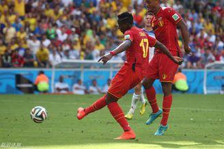 视频集锦-阿扎尔助攻奇兵绝杀 比利时1-0俄罗斯