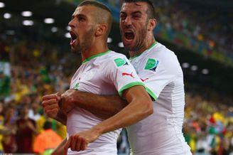 视频集锦-苏莱曼尼破门救主 阿尔及利亚1-1俄罗斯