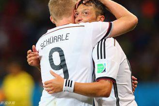 视频集锦-许尔勒272建功 德国加时2-1阿尔及利亚