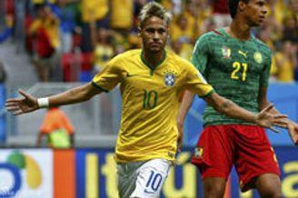 视频录播-世界杯A小组末轮 喀麦隆VS巴西上半场