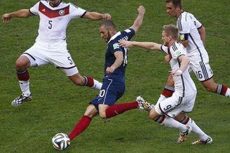 视频录播-2014世界杯1/4决赛 德国VS法国下半场