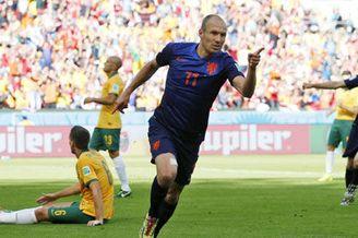 视频-世界杯第7日全进球 罗本范佩西闪光&曼朱双响