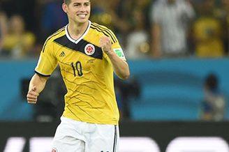 视频-J罗绽放世界杯 4场5球2助攻掀哥伦比亚风暴