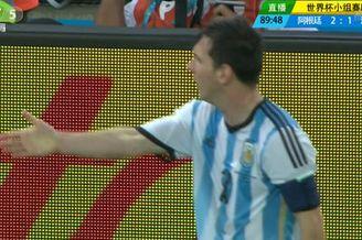 视频-梅球王终场丢球狂奔20米回防 为了世界杯拼了