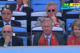 视频-比利时王室看台观战 布拉特张吉龙现身助阵