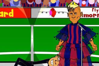 视频-网友自制恶搞动画 苏亚雷斯转会巴塞罗那