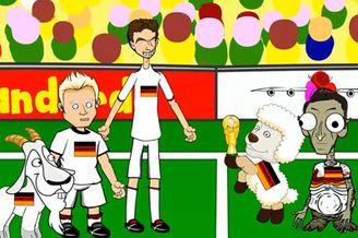 视频-网友动画恶搞世界杯决赛 格策拉姆变羊C罗乱入