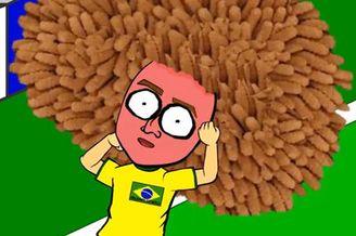 视频-网友动画恶搞巴哥战 鲁蓬蓬膨胀爆炸血腥慎入