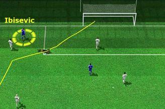 3D进球视频-伊比舍维奇84分钟小角度怒射破门