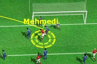 3D进球视频-瑞士左侧角球制导 穆罕默迪甩头破门