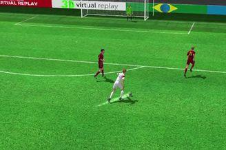 3D进球视频-李根镐爆射有惊喜 俄门将黄油手丢球
