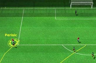 3D进球视频-佩里西奇长途奔袭 抢断射门一气呵成