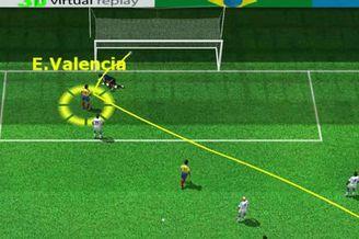 3D进球视频-厄瓜多尔迅速扳平 瓦伦西亚抢点破门