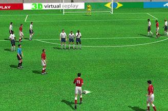 3D进球视频-泽马伊利大力任意球 洛里斯望球兴叹