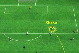 3D进球视频-扎卡反越位成功 右路左脚抽射入网