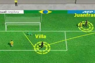 3D进球视频-胡安弗兰底线回做 比利亚脚后跟破门