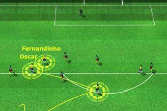 3D进球视频-反击弗雷德做墙回传 曼城悍将怒捅远角