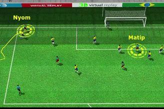 3D进球视频-阿尔维斯遭2连突 喀麦隆扳回一城