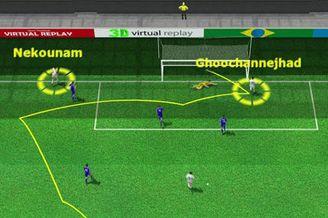 3D进球视频-悍将巧妙横传 伊朗锋霸抢点扳回一城
