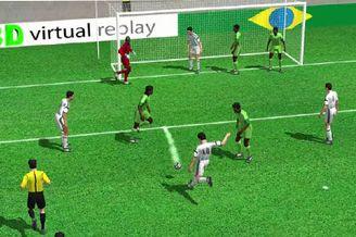 3D进球视频-尼日利亚禁区混乱 梅西大力抽射破门