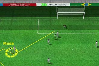 3D进球视频-悍将中路突破传球 穆萨切入射入远角