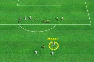 3D进球视频-梅西任意球挂死角 门将毫无还手之力