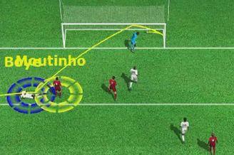 3D进球视频-铁卫解围踢疵 诡异弧线加纳送乌龙