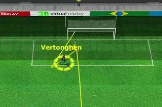 3D进球视频-队友爆杆被扑 维尔通亨补射献绝杀