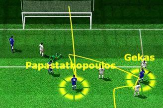 3D进球视频-希腊铁卫补时神奇扳平 希腊神话再现