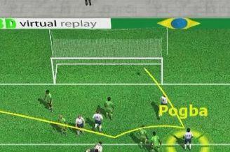 3D进球视频-恩耶亚马接球脱手 博格巴头球破门