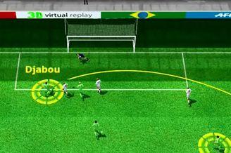 3D进球视频-布拉西米精准直传 加布机敏铲射破门