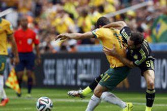 视频录播-世界杯B组末轮澳大利亚VS西班牙 下半场