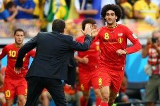 世界杯-曼联悍将扳平 比利时替补献绝杀2-1逆转胜