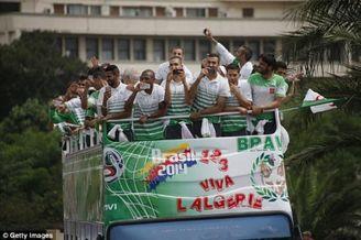 阿尔及利亚队奖金捐给加沙地区穷人:他们更需要钱